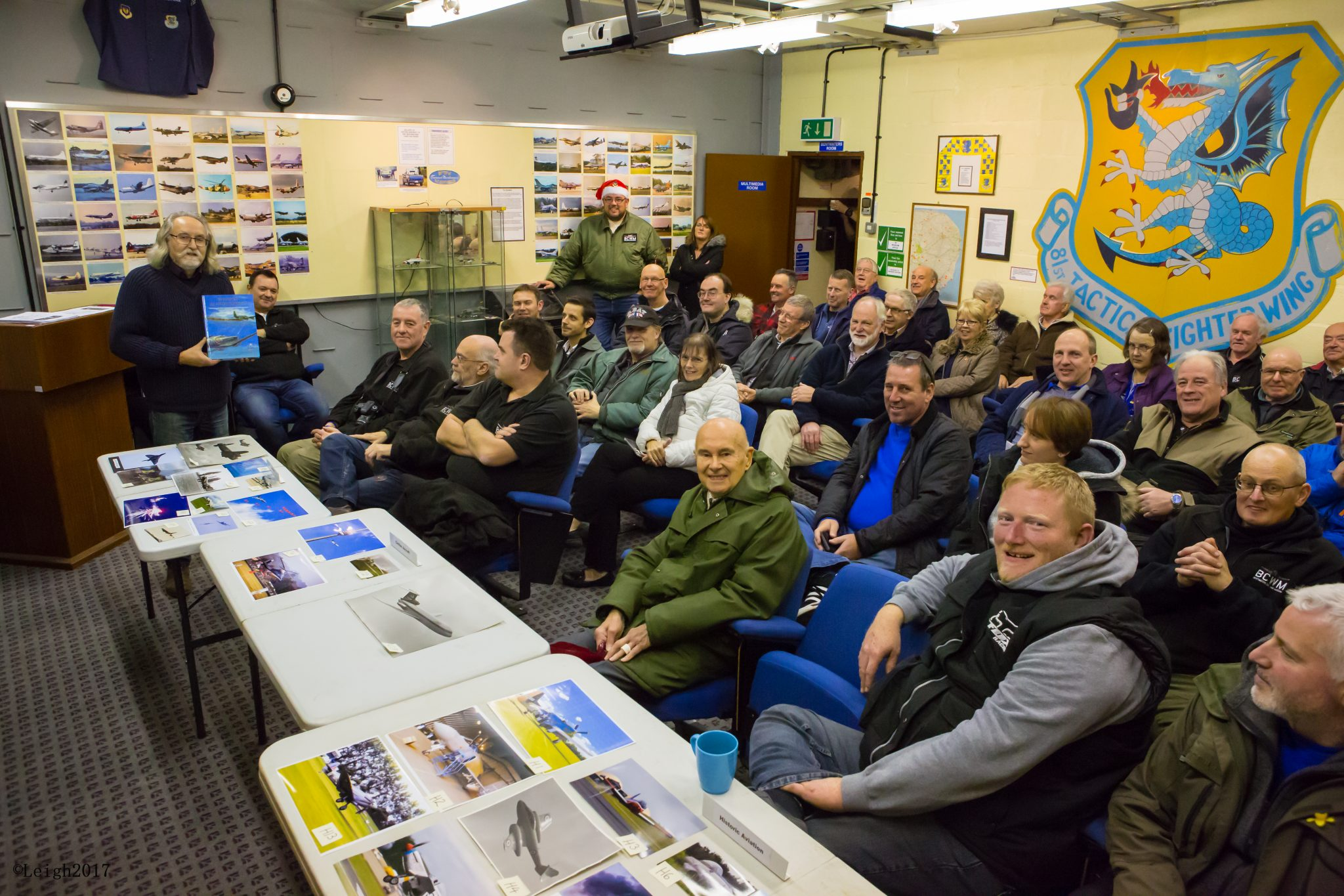 Bentwaters Aviation Society Meeting Book Presentation 14th Dec 2017-0009...