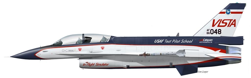 USAF F-16D VISTA