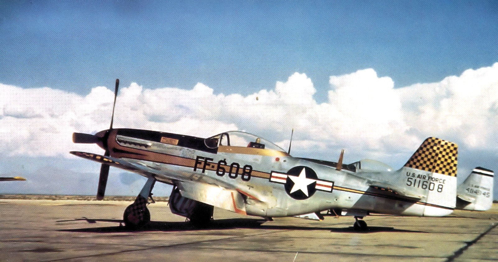 3595th_Training_Wing_F-51D_45-11608_Nellis_1948