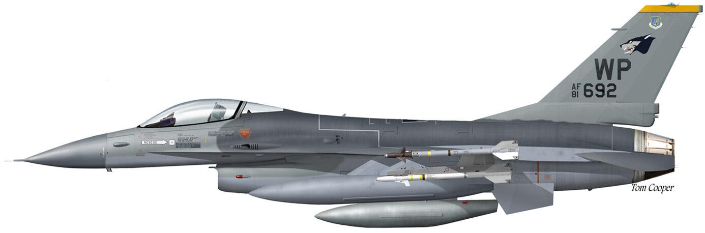 USAF F-16A WP 81-0692