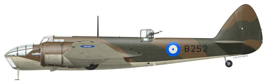 HAF, Blenheim Mk IV P4911, B252, No 32 Bomber Squadron