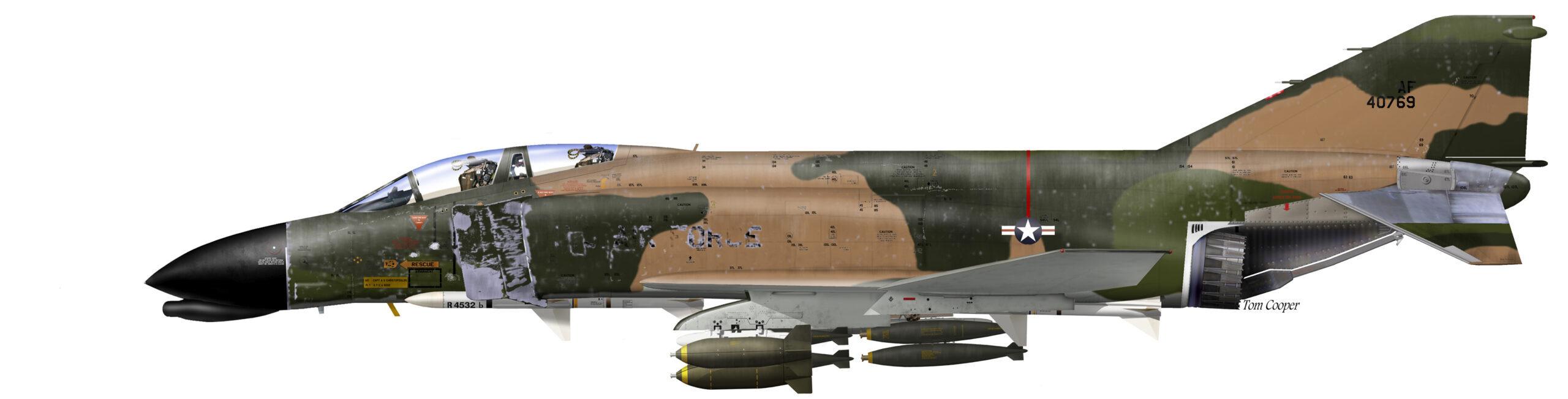 USAF F-4C XC 64-0769